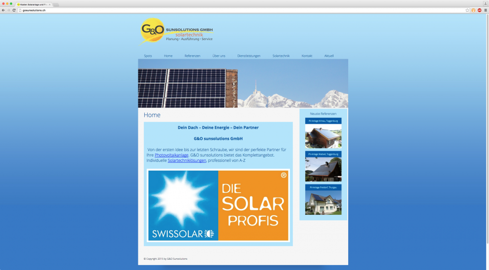 G&O Sunsolutions GmbH